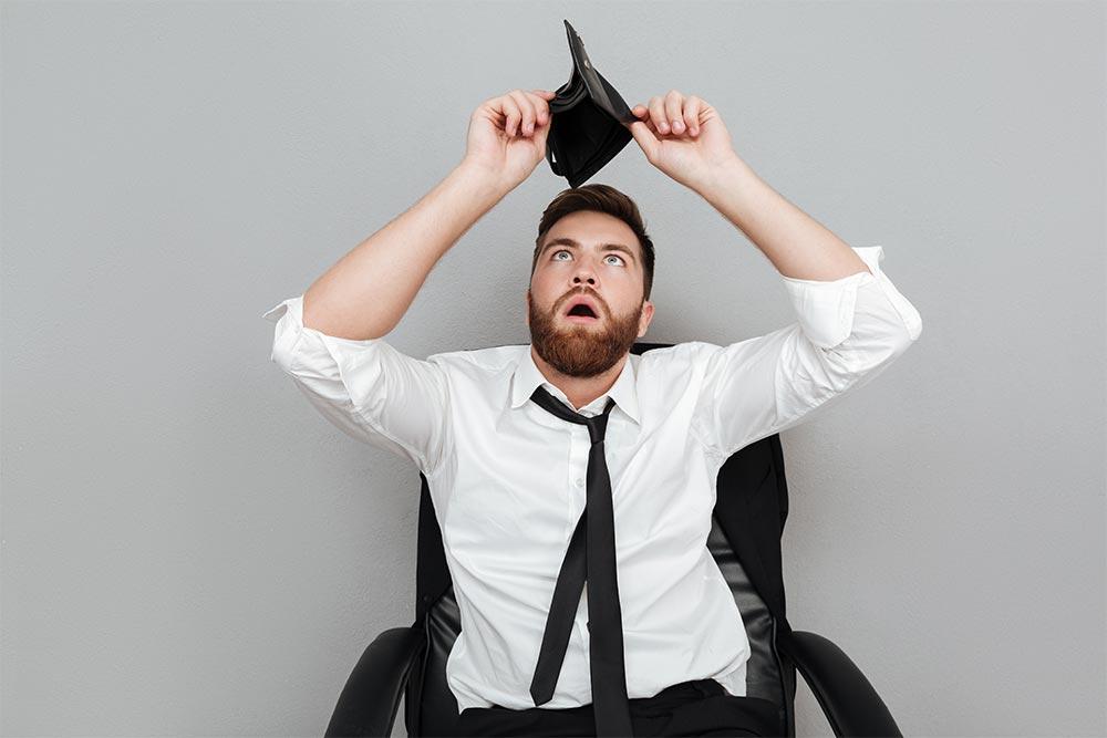 E-commerce : 5 signes qui montrent que vous avez des soucis financiers